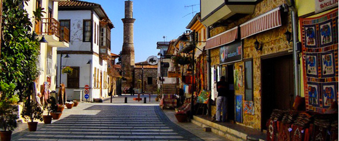 Antalya Oldcity (Kaleici) - Hotel within city limits - Turkey